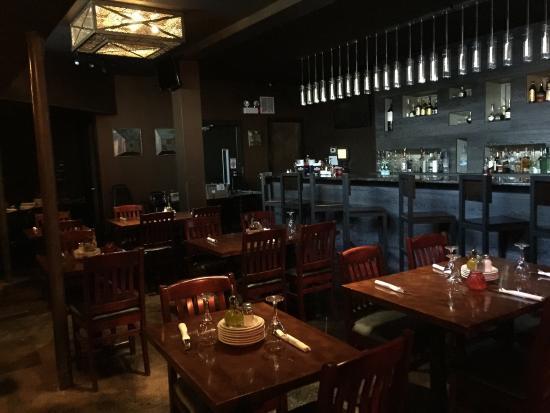 Bulerias Tapas Bar : Downstairs bar/seating