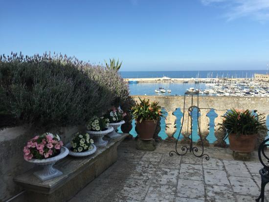 Palazzo de Mori: Blick auf die Terrasse