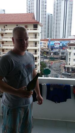Jomtien Longstay Hotel: balcony