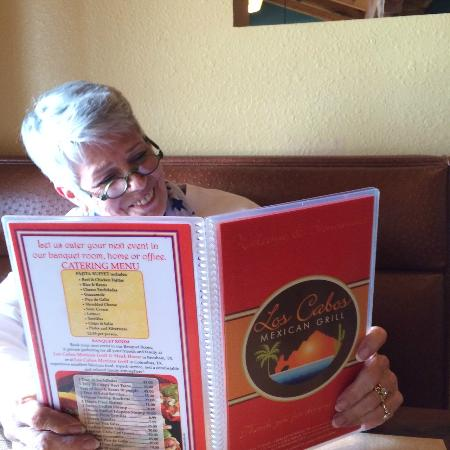 Los Cabos Mexican Grill & Steak House: the menu