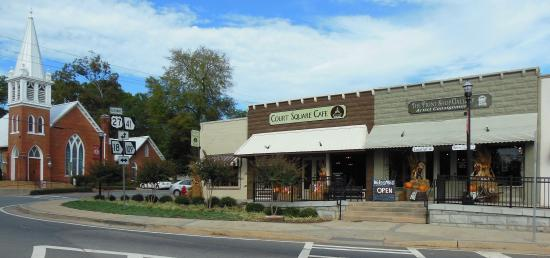 Greenville, จอร์เจีย: Court Square Cafe
