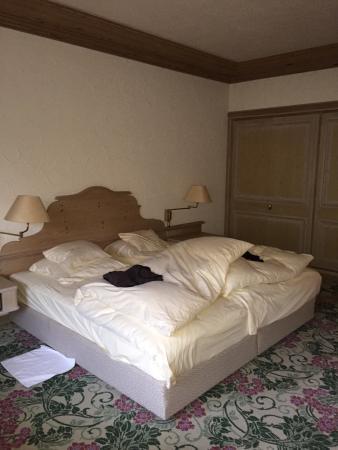 Romantik Hotel Spielweg : Frisch aufgedeckte Betten