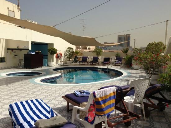 De Pool Picture Of Savoy Park Hotel Apartments Dubai Tripadvisor