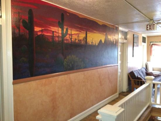 Grand Canyon International Hostel: Southwestern Sunset