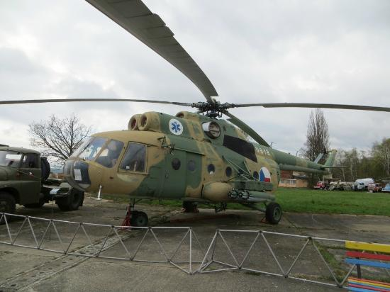 "Vyskov, Czech Republic: A Mil Mi-8 ""Hip"" helicopter"