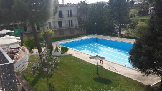Hotel El Almendral: Vista desde la habitación