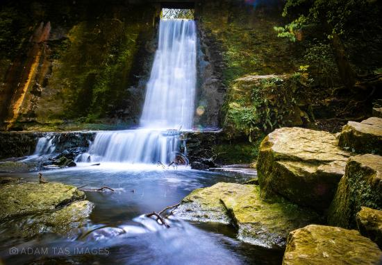 Connah's Quay, UK: Waterfall at Wepre Park. #wales #deeside #adamtasimages