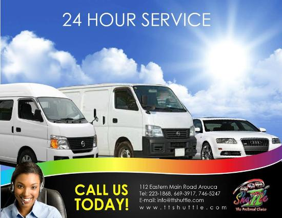 Trinidad & Tobago Shuttle Services