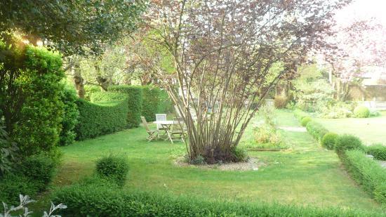 Le Clos Jouvenet : il giardino