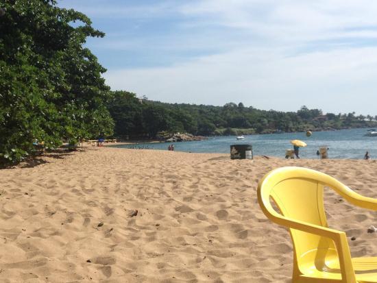 Pousada Ponta do Pequeah : Praia