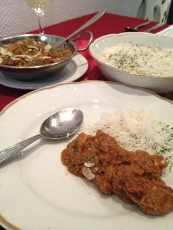 Tandoori Palace: Fish Curry