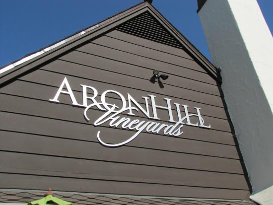 AronHill Vineyards: The Tasting Room