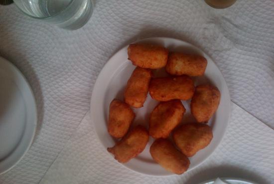 Meson El Pollo del Tio Paco: Croquetas de pollo