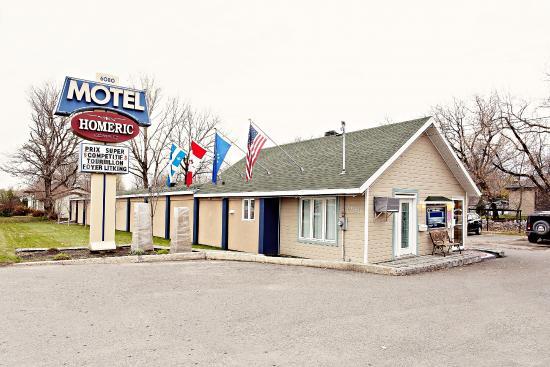 Motel Homeric : Façade