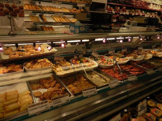 Zabar Deli & Gourmet Foods : Just one aspect of this incredible store.