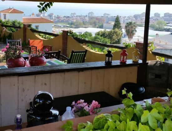 Hotel Rural Cortijo Amaya: uitzicht vanaf het terras.