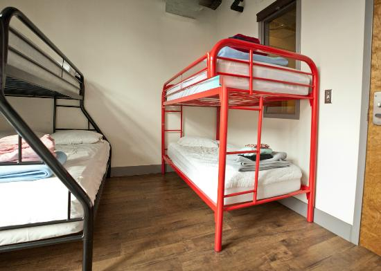 Standard Dorm Rooms Have Two Bunk Bed Inside Them Picture Of