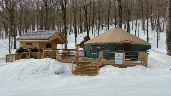 Ledgewood Yurt