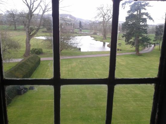 Llansantffraed Court: View from Room 15