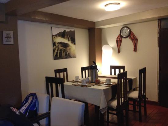 In Casita: sala de jantar
