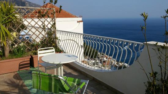 Ostello Brikette: My balcony