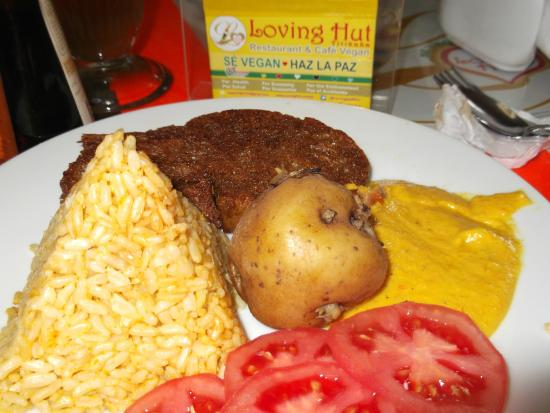 Loving Hut Vegan : Churrasco vegan
