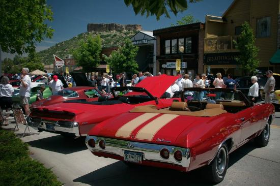 Car Show In June Fathers Day Weekend In Downtown Castle Rock - Where is the car show today