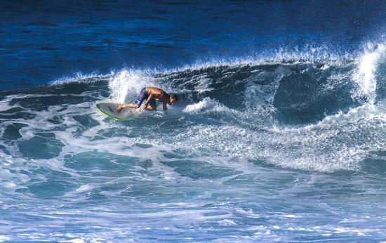 Пайя, Гавайи: серфер