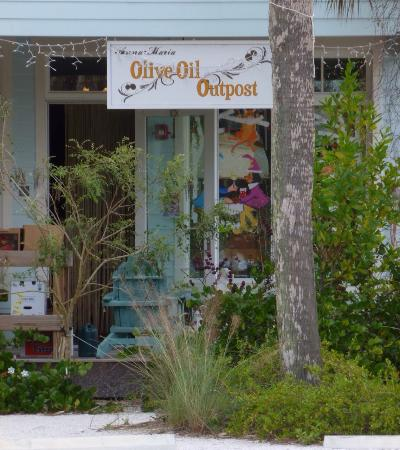 Olive oil clothing store
