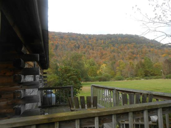 Big Indian, NY: View from the Catskills Cabin Deck