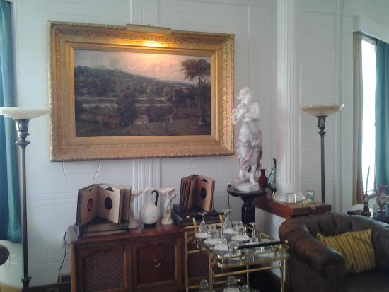 Purchases and gifts of art are from all over the world, The Bungalow, Port Union, NL