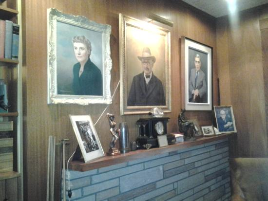 Coaker's history with the unions is very well explained, The Bungalow, Port Union, NL