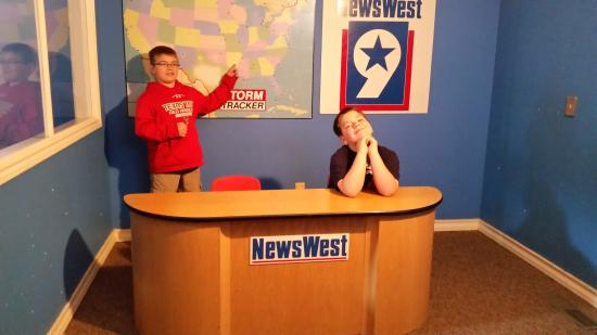 Museum of the Southwest: news room at children museum