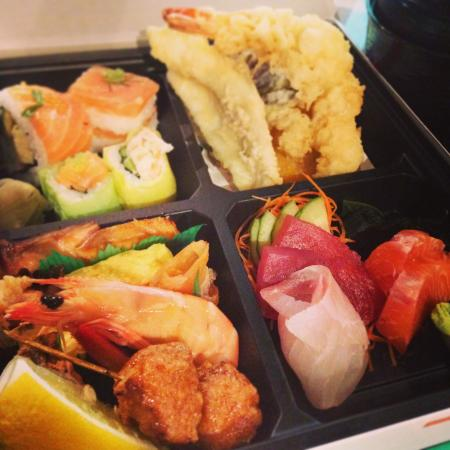 bento box picture of reef seafood and sushi brisbane tripadvisor. Black Bedroom Furniture Sets. Home Design Ideas