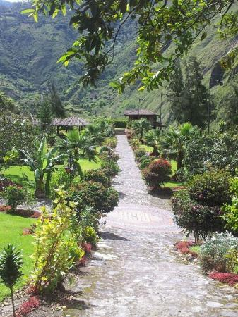 Hosteria y Spa Isla de Baños : Gorgeous views