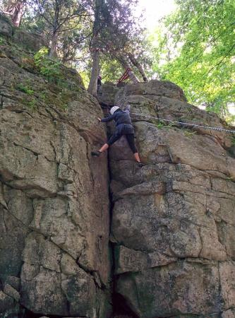 Free Spirit Tours: Climbing