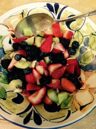 Chantry Breezes B&B: Healthy Breakfast Starter