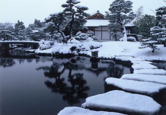 APA Hotel Himeji Eki Kita : 【好古園】好古園の冬景色