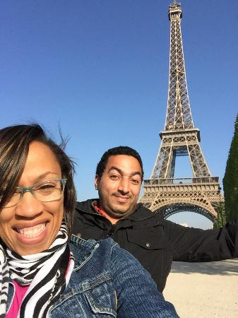 David Kafari - Day Tours: Eiffel Tower 2015 with David my Tour Guide
