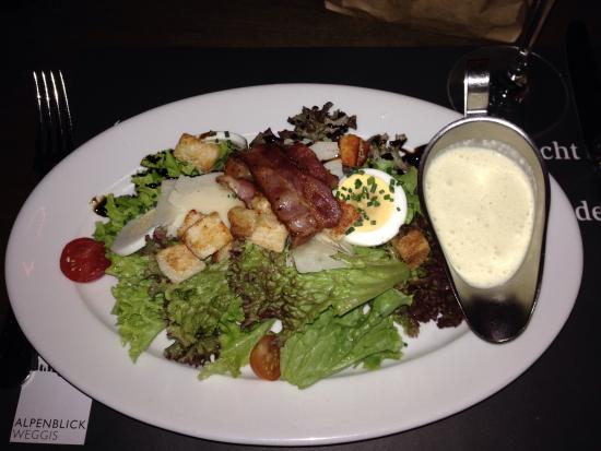 feRUS bar&grill : Ceasar Salad