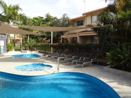 recently upgraded pool area picture of noosa gardens riverside rh tripadvisor com