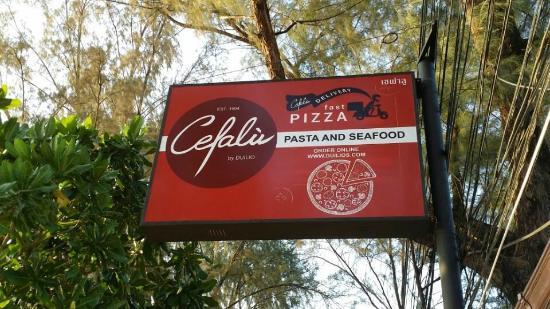 Cefalu Restaurant: @ Cefalu's
