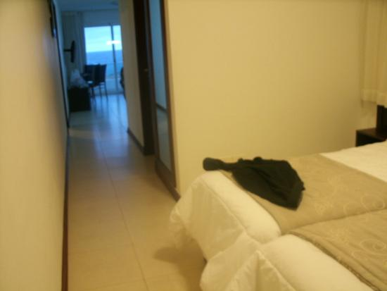 Apart Hotel Beira Mar: Camas de solteiro