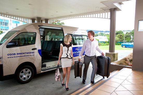 Kilbirnie, Νέα Ζηλανδία: Shuttle van