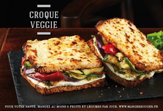 croque veggie photo de au bureau boulazac tripadvisor. Black Bedroom Furniture Sets. Home Design Ideas