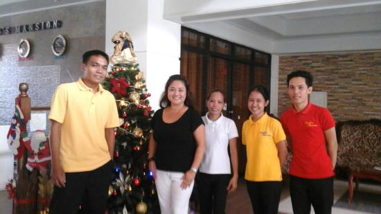 Aurelio's Mansion: Friendly staff