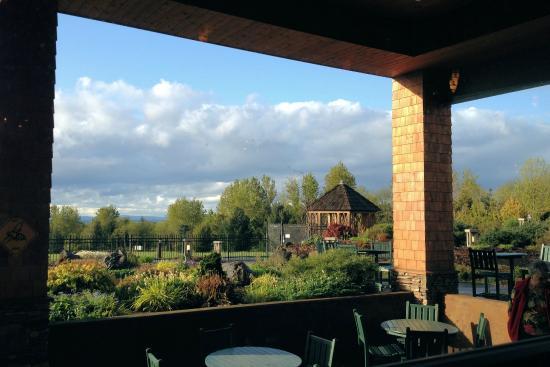 Wonderful Oregon Garden Resort Silverton Oregon. View From Garden Restaurant Amazing Ideas
