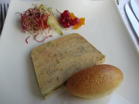 Les Croisieres Mireio: le foie gras au Beaume de Venise