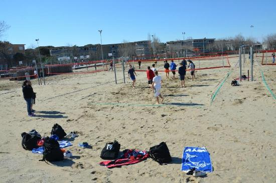 Campi da beach volley all'Eurocamp