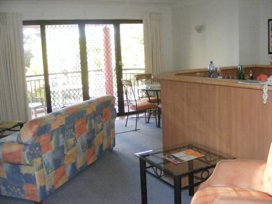 Burleigh on the Beach: a fine well appointed room 24